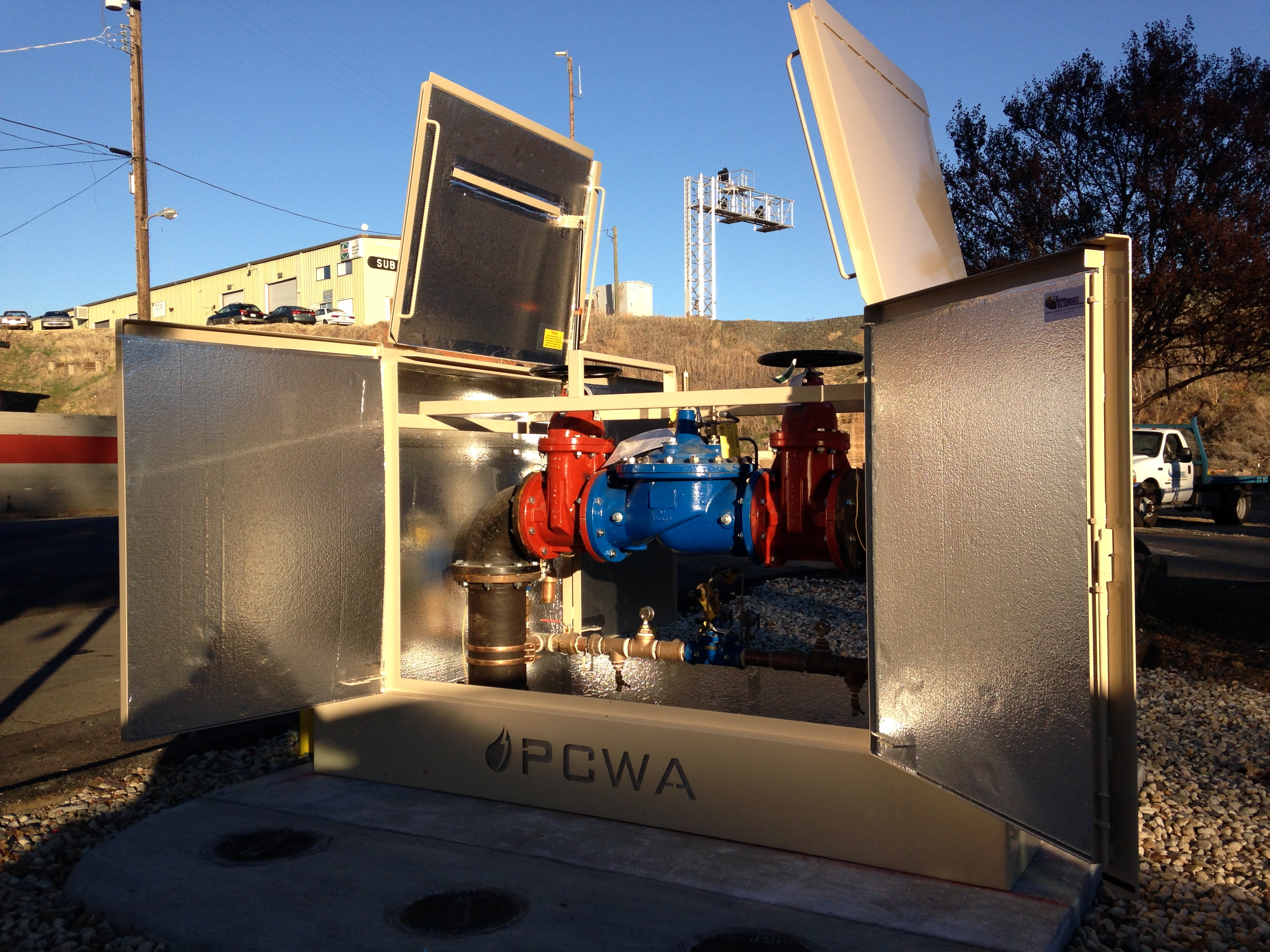 Backflow Enclosures Be6d Placer Waterworks